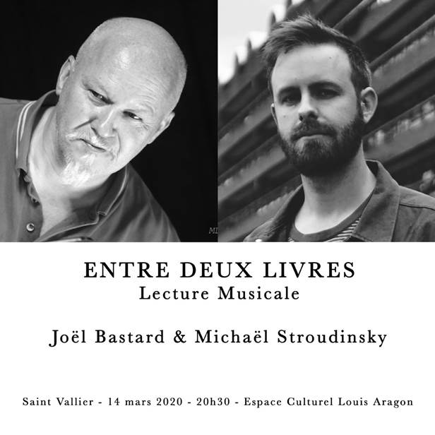 Date du spectacle Joël Bastard avec Michaël Stroudinski